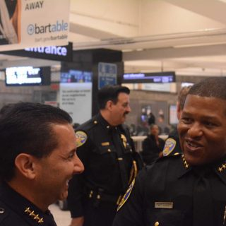 BART police, SFPD team up for safer Civic Center station