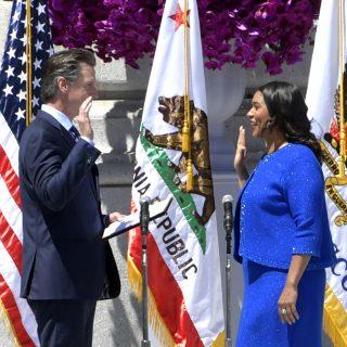 London Breed sworn in as 45th SF mayor