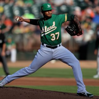 Unable to land an arm at the deadline, A's move on