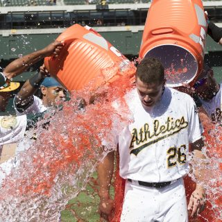 A's claim 'The Bridge' with second-straight walkoff