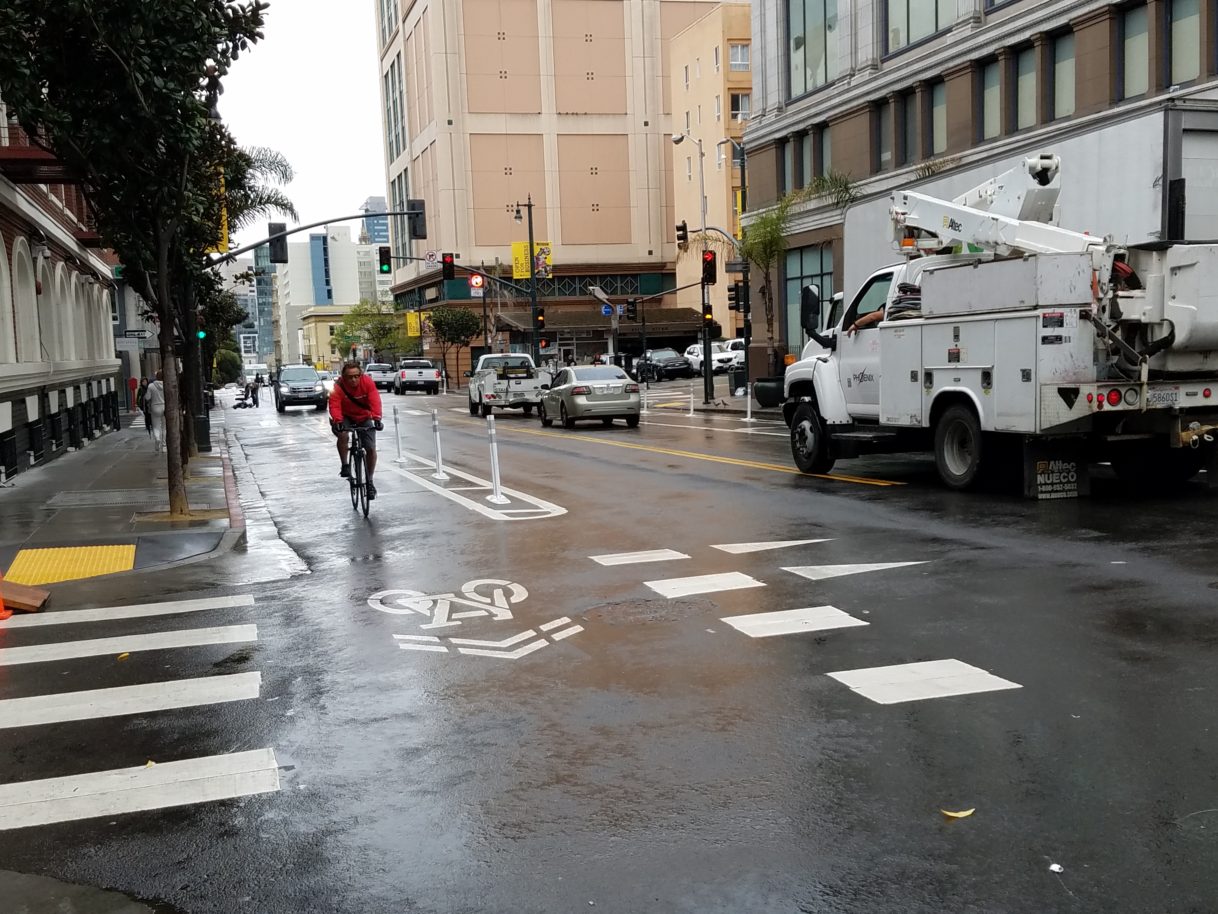 Polk Street safety improvements launch to mixed reviews – SFBay