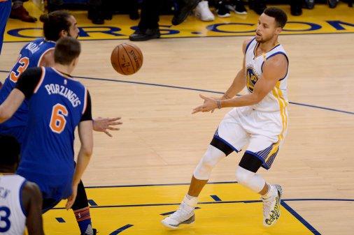 New York Knicks vs Golden State Warriors