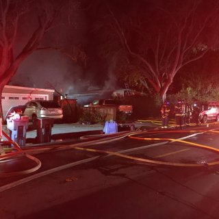 No injuries reported in two-alarm house fire