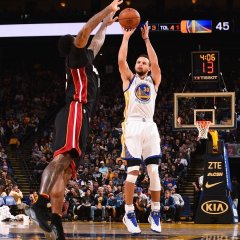 Waterlogged Warriors trudge through shorthanded Heat