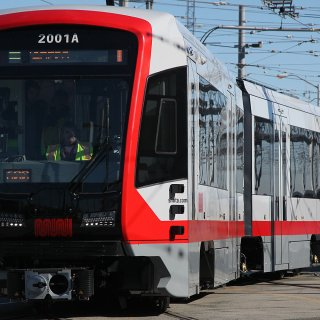 Muni unboxes sparkling new Metro train