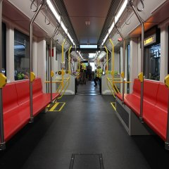 SFMTA Muni new train