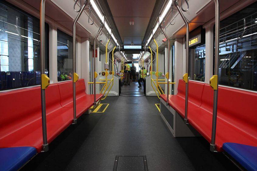 SFMTA Muni new train