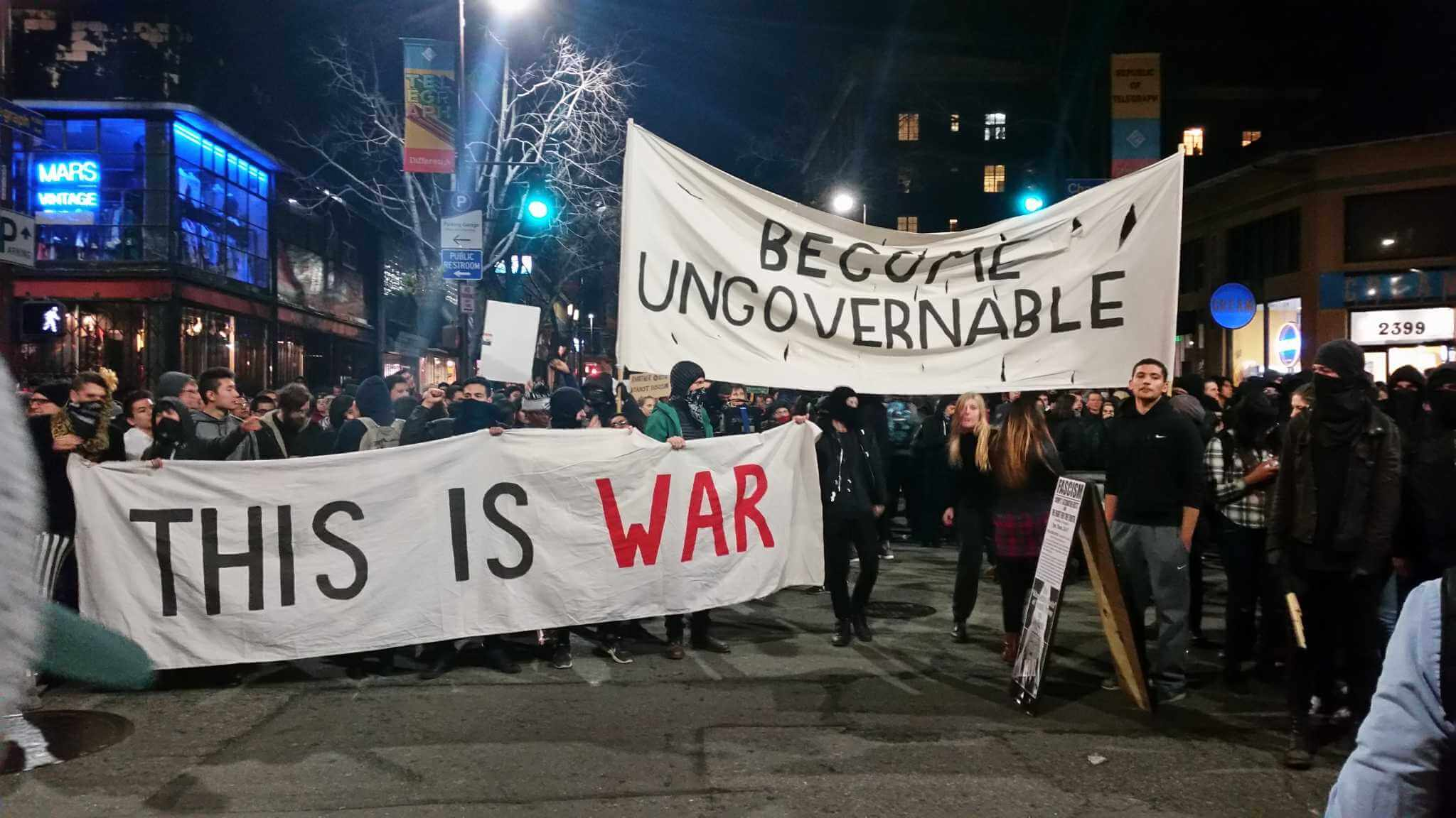 Berkeley Protests