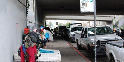 Oakland homeless camp