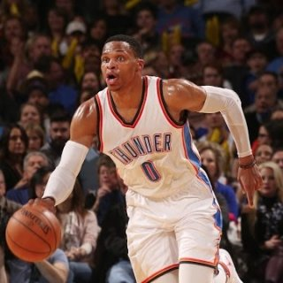 Russell Westbrook flying solo as Thunder star