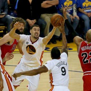 Warriors break out highlight reel in Bulls slaughter