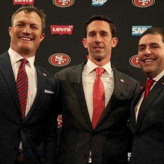 49ers introduce John Lynch, Kyle Shanahan