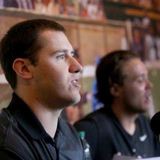 Giants' Ty Blach sits ready on rotation's outskirts
