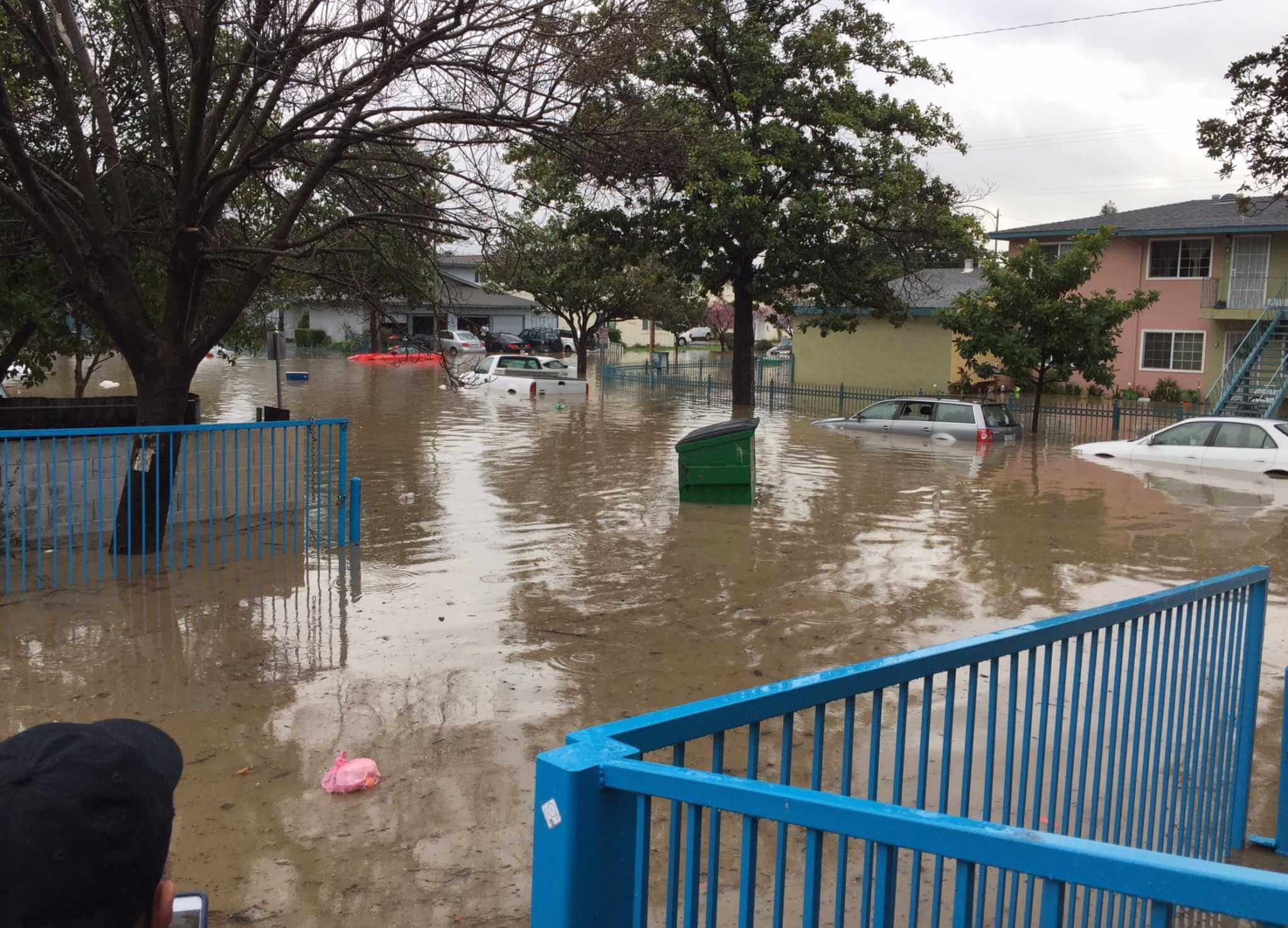 San Jose flooding