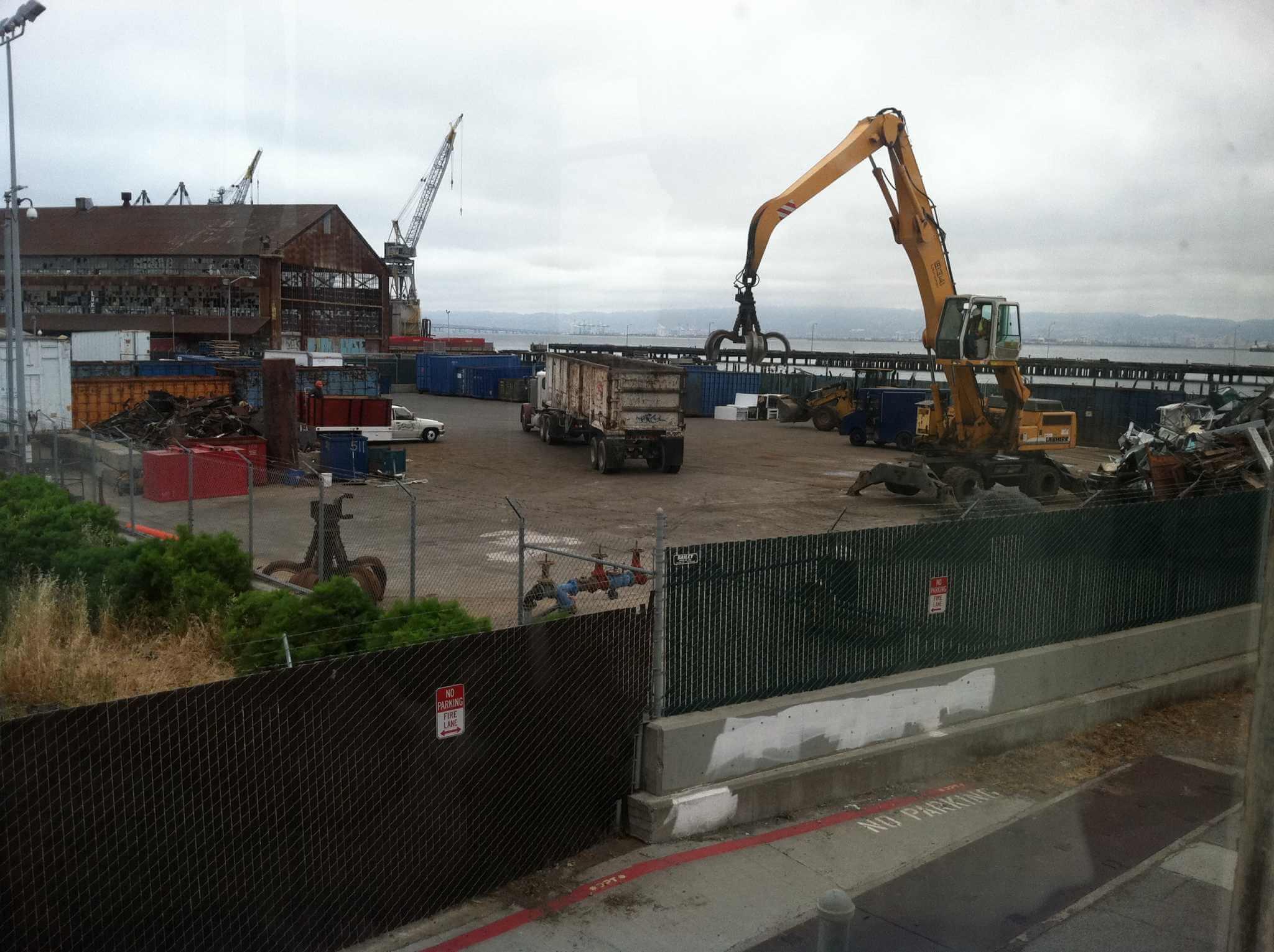 Pier 70 shipyard
