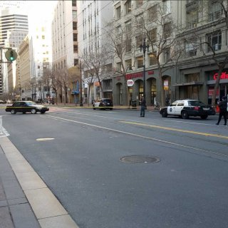 Market Street closed by wave of anti-Jewish bomb threats