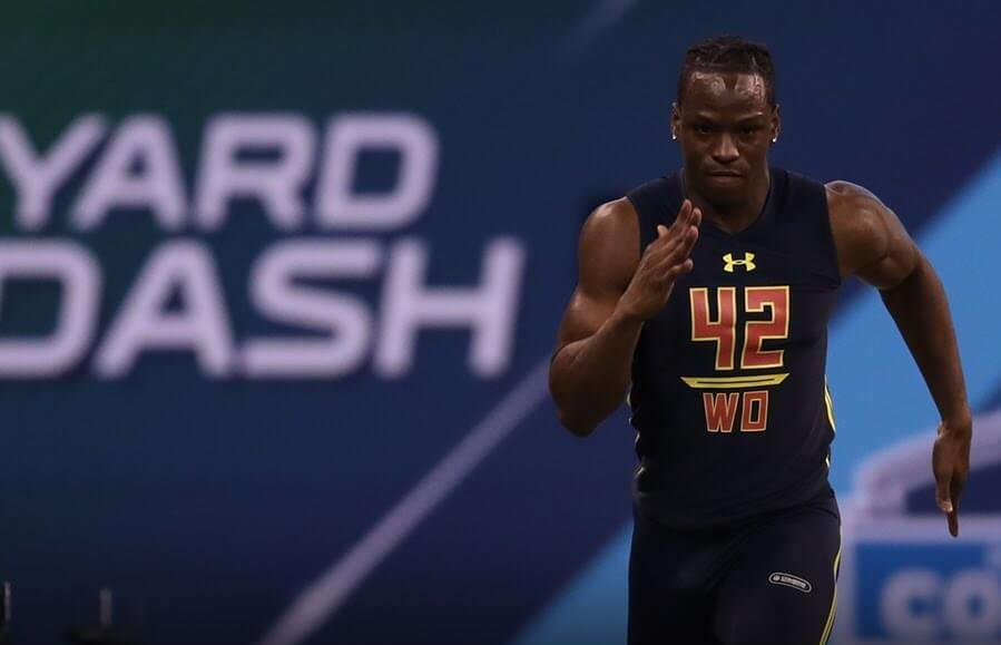 NFL Combine Day 2: Ross rips record 40-yard dash