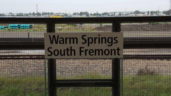 Warm Springs BART station