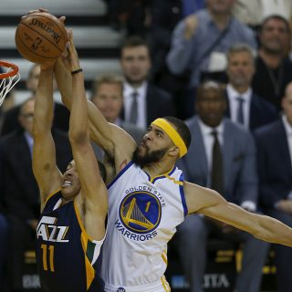 Rested Warriors target Jazz as next playoff victim