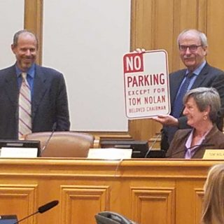 Tom Nolan honored as he steps away from SFMTA board