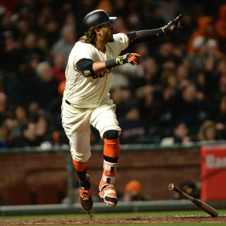 Morse homers like it's 2014, Giants beat LA in extras