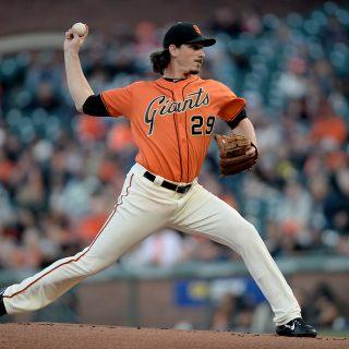 Samardzija named NL Player of the Week