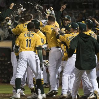 Another game, another walk-off win for A's
