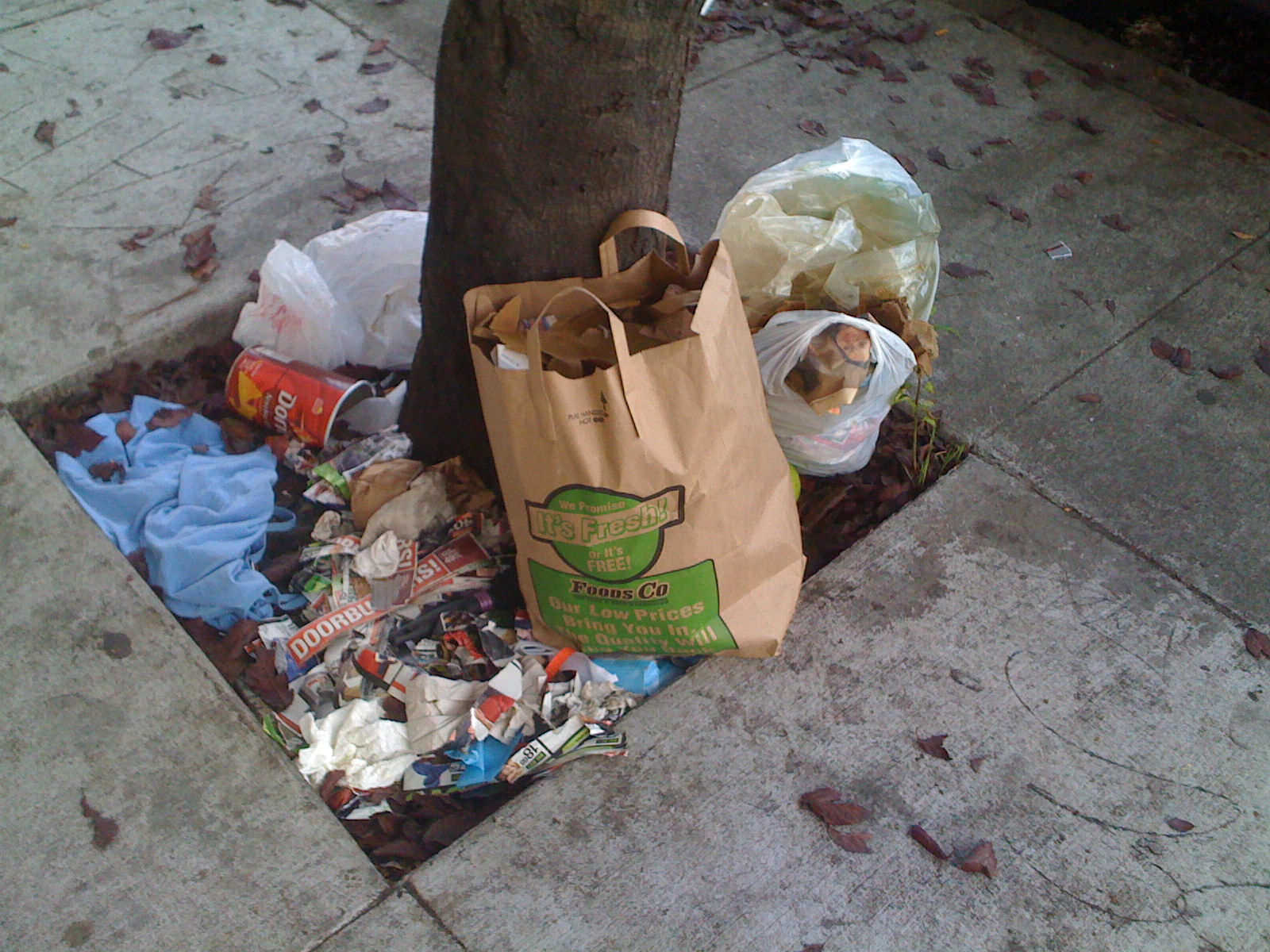 San Francisco trash