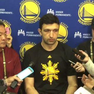 Warriors' Zaza Pachulia: 'I did whatever I had to do'