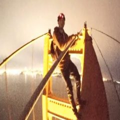 Golden Gate Bridge climbers