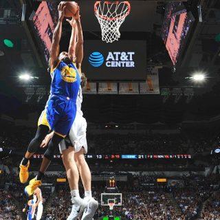 Warriors stomp Spurs, sweep into NBA Finals