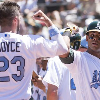 Inside pitch: Offense carries A's to sweep of Yanks