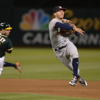 Astros catch up to Manaea, continue A's ownage