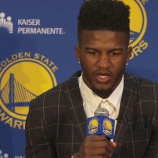 Bell: 'I've been a Warriors fan since I started playing'