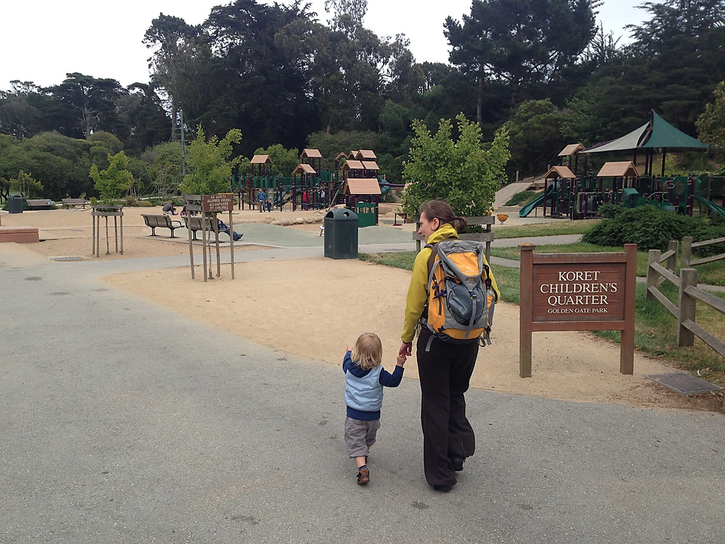 Koret Children's Playground Golden Gate Park