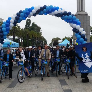 Ford GoBike sharing service expands fivefold