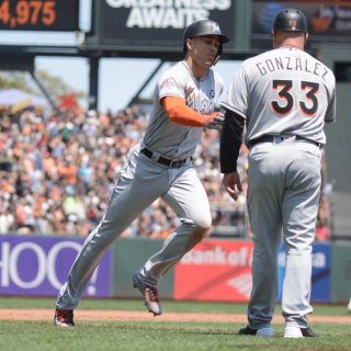Giants forgettable first half ends with Marlins sweep