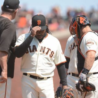 Giants could consider the 'Dark Knight' as Cueto undergoes TJ