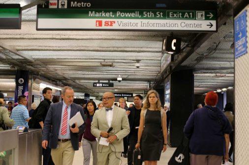BART Powell Station