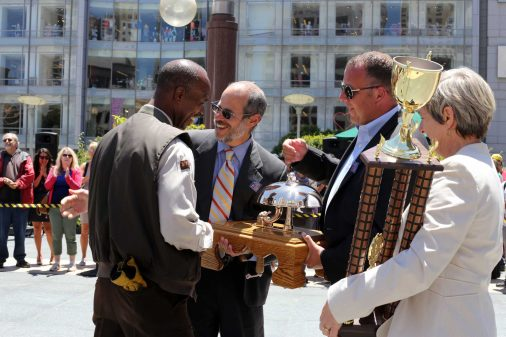 Cable Car bell-ringing championship