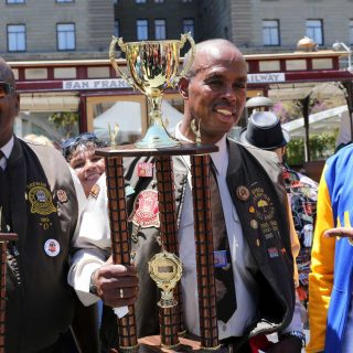 Cable car bell ringing champ wins one for mom