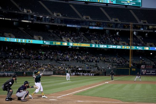 Cleveland Indians vs Oakland Athletics