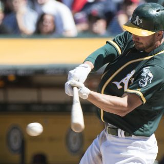 A's sweep Cleveland, surge into second half