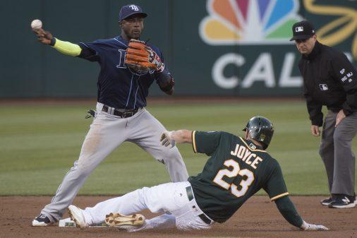 Tampa Bay Rays v Oakland Athletics