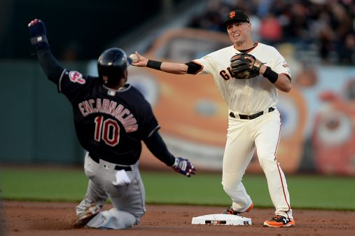 Cleveland Indians vs San Francisco Giants