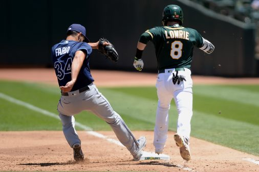 Tampa Bay Rays vs Oakland Athletics