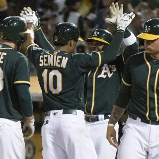 Inside pitch: A's take four of seven in rivalry week