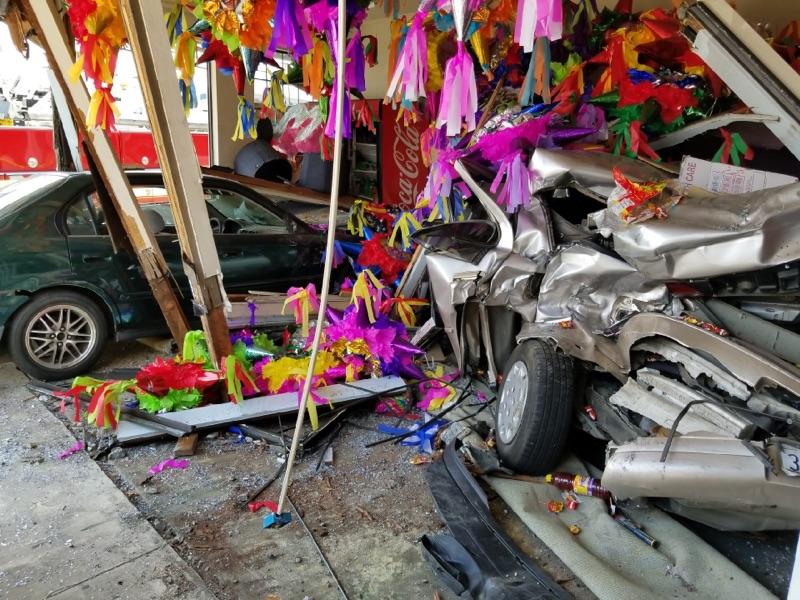 Watsonville piñata store crash