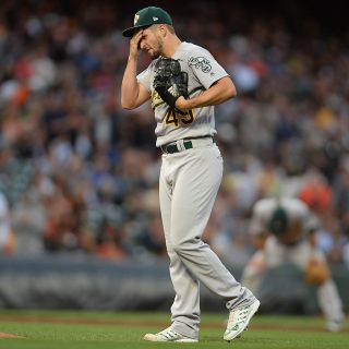 Opportunistic A's focused on pitching this offseason