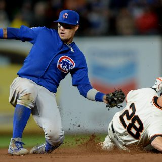 Overdue Posey homer helps Giants topple Cubs